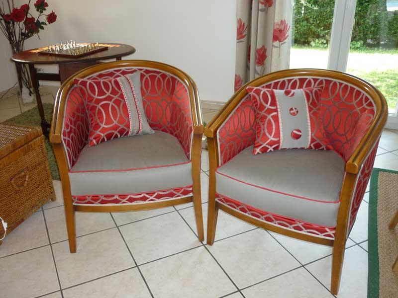 Tissus ameublement pour fauteuil inspiration du blog for Decorateur bordeaux