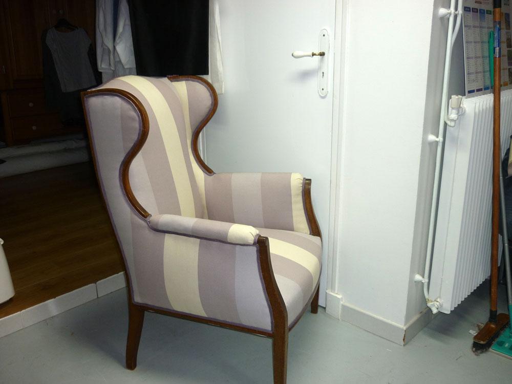 salon cabriolet style louis xv laque blanc