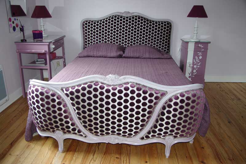 relooker lit ancien je fabrique une tte de lit lit relooking de meubles anciens cration tte. Black Bedroom Furniture Sets. Home Design Ideas